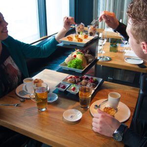 Hightest Tea at The Penthouse The Hague